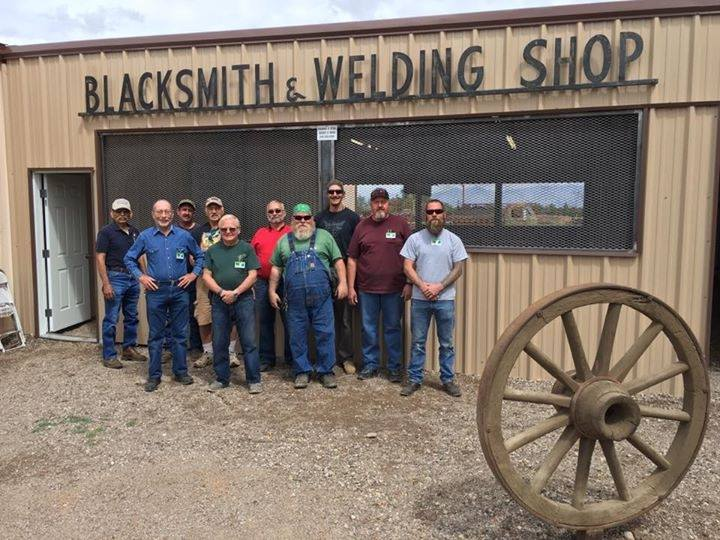 Pima County Fair's new blacksmithing exhibit house
